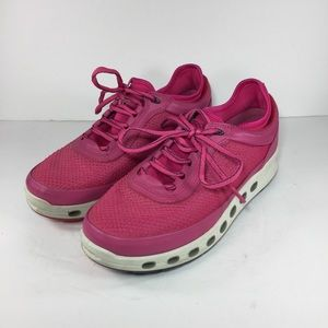 Ecco Cool 2.0 GORE-TEX Surround Shoes Pink Leather